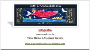 Sitografia per Dislessia e DSA - Franca Storace e Annapaola Capuano 1